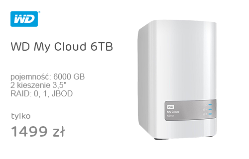 WD My Cloud 6TB Mirror