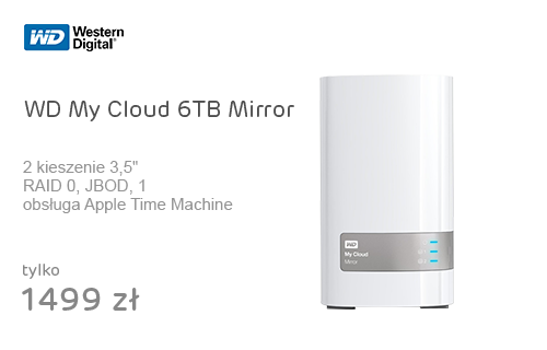 WD My Cloud 6TB Mirror