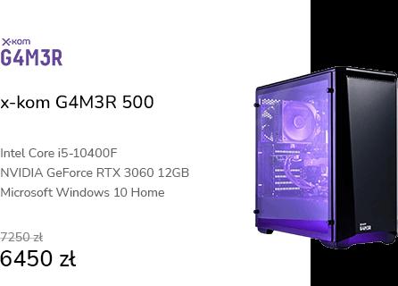 x-kom G4M3R 500 i5-10400F/16GB/1TB/RTX3060/W10X