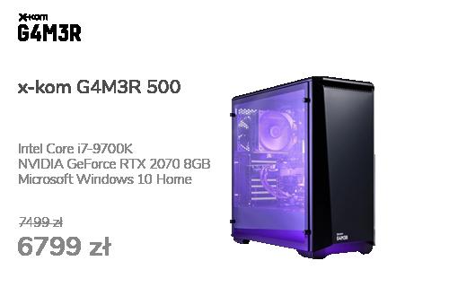 x-kom G4M3R 500 i7-9700K/16GB/240+1TB/W10X/RTX2070