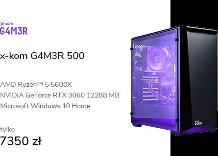 x-kom G4M3R 500 R5-5600X/16GB/960/W10X/RTX3060