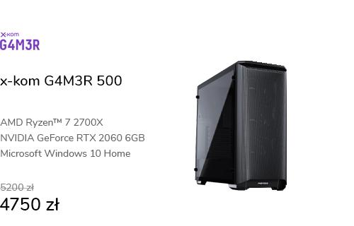x-kom G4M3R 500 R7-2700X/16GB/1TB/W10X/RTX2060