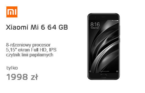 Xiaomi Mi 6 64 GB Black