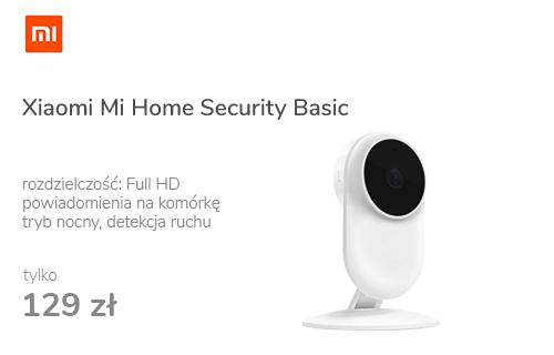 Xiaomi Mi Home Security Basic 1080p LED IR (dzień/noc)