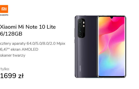 Xiaomi Mi Note 10 Lite 6/128GB Midnight Black