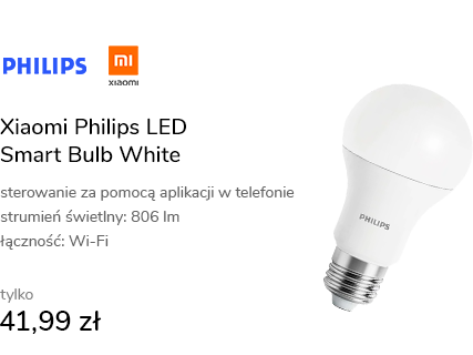 Xiaomi Philips LED Smart Bulb White (E27)