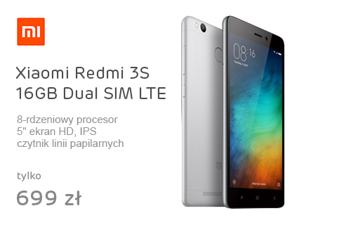 Xiaomi Redmi 3S 16GB Dual SIM LTE Dark Grey