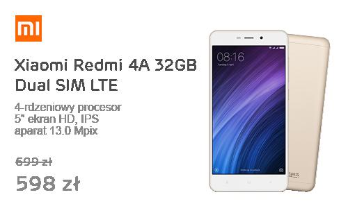 Xiaomi Redmi 4A 32GB Dual SIM LTE