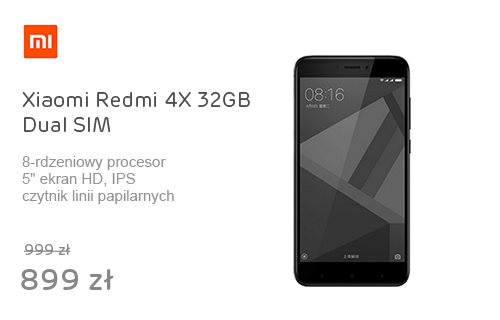 Xiaomi Redmi 4X 32GB Dual SIM LTE Black