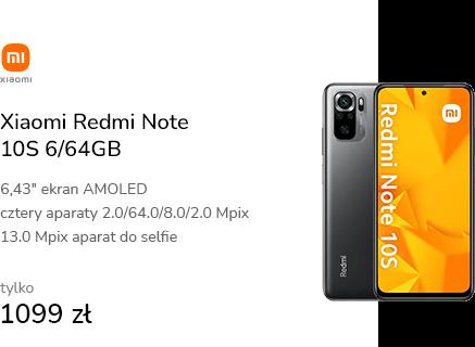 Xiaomi Redmi Note 10S 6/64GB Onyx Gray