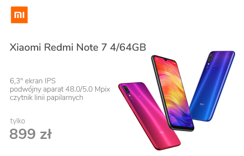Xiaomi Redmi Note 7 4/64GB Neptune Blue