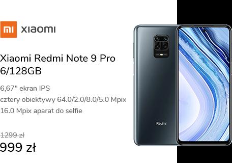 Xiaomi Redmi Note 9 Pro 6/128GB Grey