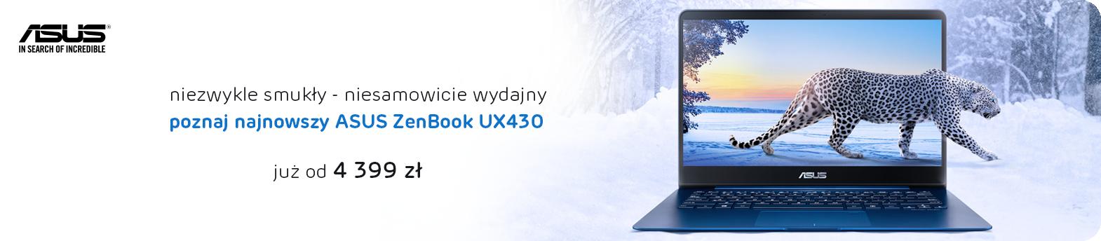 poznaj ZenBook UX430