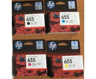Test HP 655 CZ112AE yellow 600str.