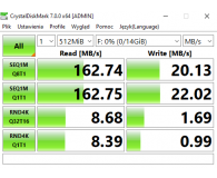 Test SanDisk 16GB Ultra (USB 3.0) 100MB/s