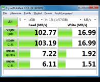Test SanDisk 64GB Ultra (USB 3.0) 100MB/s