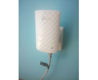 Test TP-Link RE200 LAN (802.11b/g/n/ac 750Mb/s) plug repeater