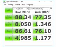 Test Kingston 64GB microSDXC UHS-I U3 zapis 80MB/s odczyt 90MB/s