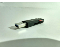 Test SHIRU SD, SDHC, MMC, RS-MMC (USB 3.0)