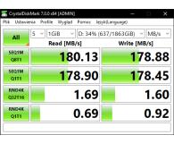 Test Toshiba P300 2TB 7200obr. 64MB