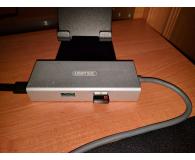 Test Unitek HUB USB-C (2x USB 3.0, Ethernet, USB-C)