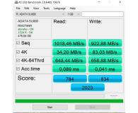 "Opinia o ADATA 512GB 2,5"" SATA SSD Ultimate SU800"