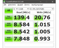 Test SanDisk 64GB Ultra Dual Drive m3.0 (USB 3.0) 150MB/s