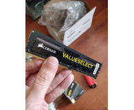 Test Corsair 16GB 2133MHz ValueSelect CL15