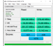 Recenzja ADATA 256GB 2,5'' SATA SSD Ultimate SU900 3D MLC NAND