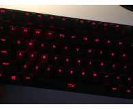 Test HyperX Alloy FPS Cherry MX Red