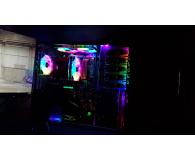 Test Corsair HD120 RGB LED 3x120mm + kontroler