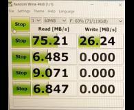 Test Samsung 128GB microSDXC Evo zapis 90MB/s odczyt 100MB/s