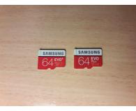 Test Samsung 64GB microSDXC Evo Plus zapis60MB/s odczyt100MB/s