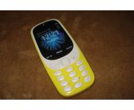 Test Nokia 3310 Dual SIM żółty