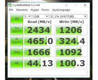 Test Plextor 512GB M.2 PCIe M8PeGN