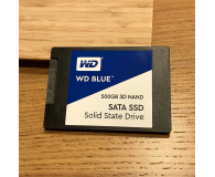 "Test WD 500GB 2,5"" SATA SSD Blue"