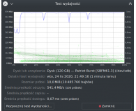 "Opinia o Patriot 120GB 2,5"" SATA SSD BURST"