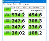 """Test Micron 256GB 2,5"""" SSD M1100 3D NAND OEM"""