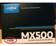 """Crucial 500GB 2,5"""" SATA SSD MX500 - Marek"""