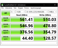 "Test Crucial 500GB 2,5"" SATA SSD MX500"