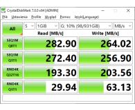 """Test Crucial 1TB 2,5"""" SATA SSD MX500"""