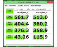 """Test Crucial 2TB 2,5"""" SATA SSD MX500"""