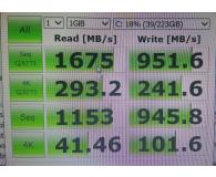 Test Patriot 256GB M.2 PCIe NVMe Scorch
