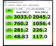 Plextor 256GB M.2 PCIe NVMe M9PeGN  - Robert