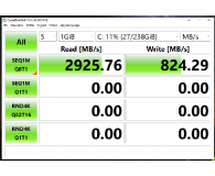Recenzja Plextor 256GB M.2 PCIe NVMe M9PeGN