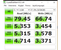 Test Kingston 64GB SDXC Canvas React 100MB/s C10 UHS-I U3 V30
