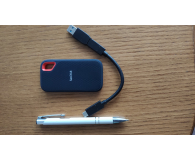Test SanDisk Extreme Portable SSD 1TB USB 3.1 Granatowy