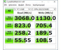 Test ADATA 240GB M.2 PCIe XPG SX8200