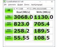 Recenzja ADATA 240GB M.2 PCIe XPG SX8200