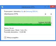 Test Samsung 256GB BAR Plus Titan Gray 300MB/s
